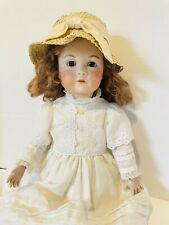 """20"""" K* R Antique Reproduction Real Seeley Ball Jointed Body Girl Doll"""