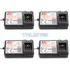 4 PCS FlySky FS-GR3E Receiver 3CH Failsafe for FLYSKY GT2B GT3BGT3C Transmitter.