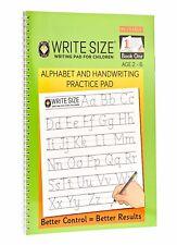 Write Size Alphabet & Handwriting Practice Pad - Book 1