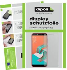 6x Asus Zenfone 5 Lite (ZC600KL) Protector de Pantalla protectores mate dipos