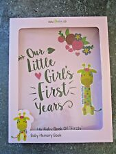 Ronica Baby Gift Memory Book Our Little Girls First Years W/Stickers New other