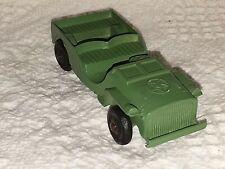 "Vintage 1947 Tootsietoy CJ3 Civilian Jeep 4"""