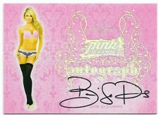2016 BENCHWARMER PINK ARCHIVE FINAL EDITION BILLIE JO POWERS AUTOGRAPH AUTO CARD