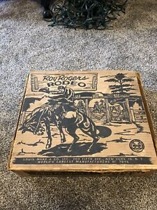 Vintage Marx  ROY ROGERS RODEO BOX SET Box Only With Inserts
