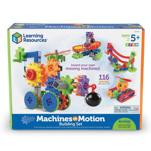 Gears! Gears! Gears! Machines in Motion Construction Toy 116 Pieces Ages 5+