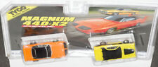 TWINPACK TYCO ORG. SUPERBIRD / YEL CHARGER MINT ON CARD NEW Old Stock  HO slots