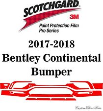 3M Scotchgard Paint Protection Film Pro Series 2017 2018 Bentley Continental
