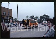 1976  kodachrome Photo slide  Lisle Il parade  fire truck