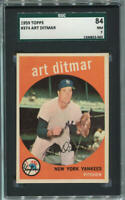 1959 Topps Art Ditmar #374. SGC 84 NM 7.