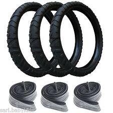 3 pneus et 3 chambres à air 312x52-250 poussette high trek Bébé Confort 312 x 52