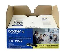 Brother TN-115Y Yellow Toner Cartridge DCP-9040CN Genuine New