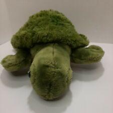 """Unipak 2011 Sea Turtle Green Sealife Ocean Reptile 16"""" Plush Stuffed Animal"""