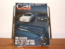 CAR MAGAZINE DEC-1986 - Peugeot 205 GTi 1.9, Lancia Delta HF, Mazda 323 Turbo