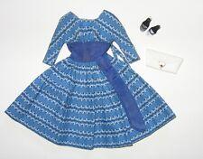 Vintage Barbie Lets Dance # 978 Near Complete Bright Blue Excellent - NM