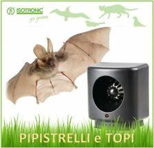 Repellente dissuasore ad ultrasuoni contro pipistrelli topi e insetti