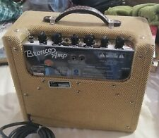 Fender Bronco tweed 15 watt vintage amplifier  for guitar other instruments