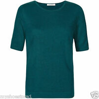 NEW MARKS & SPENCER LADIES WOMEN CLASSIC CASHMILON JUMPER SOFT KNIT TOP SWEATER