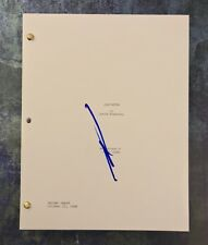 GFA Gladiator Commodus * JOAQUIN PHOENIX * Signed Full Movie Script PROOF AD1COA