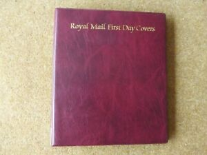Royal Mail FDC album in excellent condition - rf875