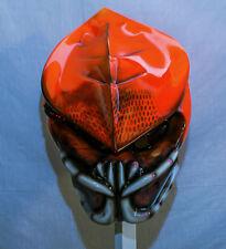 predator motorcycle helmet 3d teeth no dreads base v5