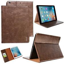 Pelle Premium Cover per Apple iPad Air 1 Case Custodia Protettiva Tablet braun