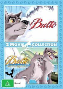 Balto / Balto - Wolf Quest | Double Pack NEW DVD