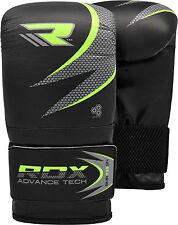 RDX Boxhandschuhe Leder Boxen Handschuhe MMA Boxing Kickboxen Training Gloves DE