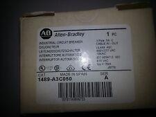Allen Bradley 1489-A3C050 Series A 2 pole 5 amp circuit breaker