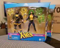 Marvel Legends Havok and Polaris Action Figures 2-Pack X-Men 80th Anniversary