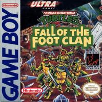 Teenage Mutant Ninja Turtles: Fall of the Foot Clan - Nintendo Game Boy GB