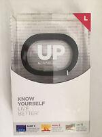UP By Jawbone Wireless Wristband Fitness Activity Tracker- Onyx Black (LARGE)