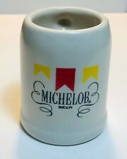 Michelob Vintage Mini Beer Stein - Mini Mug - Ceramarte Michelob Logo Mug 2 1/2�