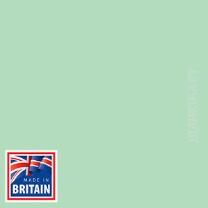 100 sheets x 12 inch Square Papago Pastel Green Craft Card 240gsm - 305 x 305mm
