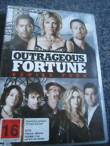 DVD OUTRAGEOUS FORTUNES SERIES FOUR   GREAT  *** MUST SEE ****