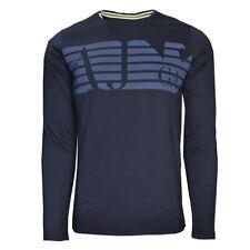Armani Jeans Slim Fit long sleeve t-shirt Navy BMH46