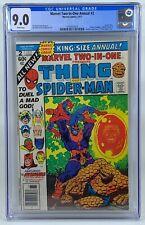 Marvel Two-In-One Annaul #2 - CGC 9.0 - Thanos Saga Ends - Rack