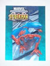 2001 MARVEL LEGENDS SPIDER-MAN ULTIMATE FOIL #3 CARD! RARE AVENGERS! BOXTOPPERS!