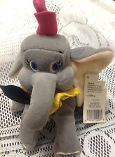DISNEY STORE DUMBO BEANIE BEAN BAG PLUSH STUFFED  W/ TAGS JUDITH SPORT