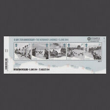 Limited Edition 2019 D-Day Miniature Sheet with Stampex Overprint