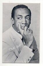 Bill Cosby 1960's Bio Back Billboard Exhibit Arcade Card