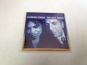 "LEONARD COHEN ""TEN NEW SONGS"" CD SINGLE 1 TRACKS IN MY SECRET LIFE"