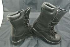 MATTHERHORN BOOTS UK4.5 BLACK ARMY CADET WATER PROOF MILITARY THINSULATE GORETEX