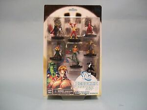DC Comics Heroclix Brightest Day 7 Figure Action Pack