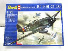 REVELL #4160  Plastic model kit MESSERSCHMITT BF 109 G-10 1:72 New in box