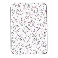 Caticorn Patrón Unicornio Gato Kindle Paperwhite Toque PU Funda Libro de Piel