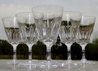 Baccarat - Service de 6 verres à eau en cristal, modèle Côte d'Azur Signés