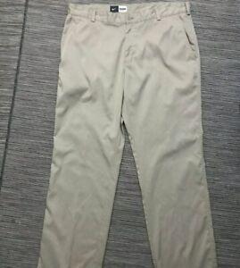 Brand New Nike Khaki/Tan/Camel Golf Pants Trousers Unhemmed Size 42 502554-235