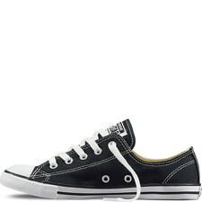 Converse Chuck Taylor All Star DAINTY Black White Lightweight Low Tops UK5 UK6