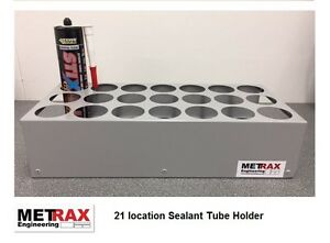 21 Mastic Sealant Tube Storage holder Van/Shed/Garage Racking Vivaro / Transit