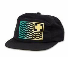 Pink Dolphin FLAG GRADIENT Black Green Yellow Snapback Baseball Cap Men's Hat